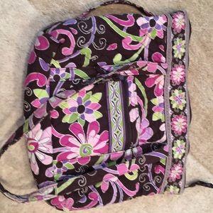 Vera  Bradley  large bag  and  cosmetic  bag